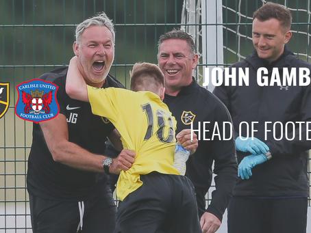 Head of Football John Gamble
