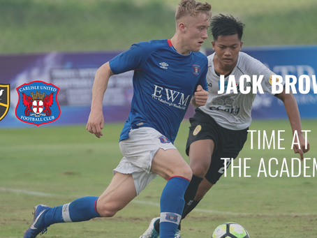 Football Academy Graduate Talks About His Time At The Academy