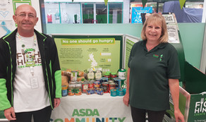 Asda - Fight Hunger Food collection