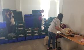 Argos team helps with Lunchpacks 4 Kids Scheme