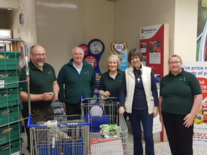 Shoppers deliver again at Supermarket collection