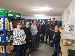 Warehouse visit by Fairydust youth group.