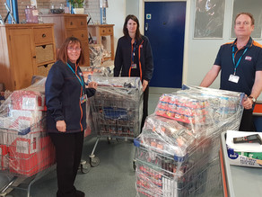 B&M Donate £6,000 of food over two weeks