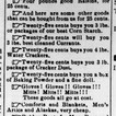 Howard Simmons Store Ad