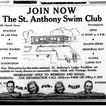St. Anthony's Swim Club Ad
