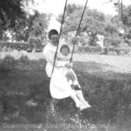 Margaret and Lucy Ruth Lloyd, ca. 1923