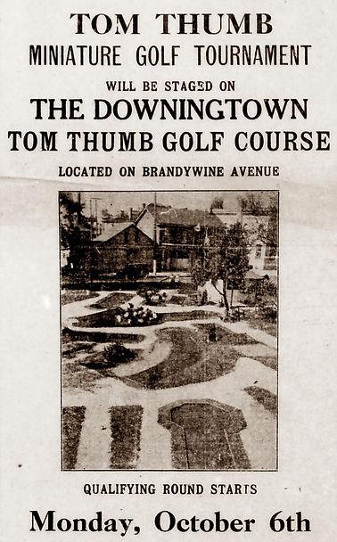 1930-10-03 Tom Thumb Mini golf Dow Archi