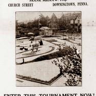 """""""Little Bill"""" miniature golf advertisement, 1931"""