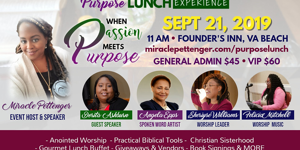 Purpose Lunch Experience 2019