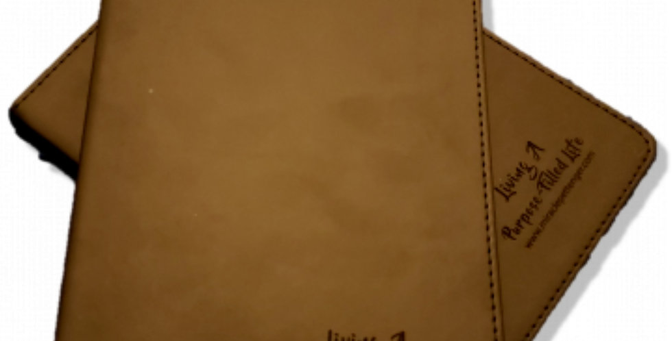 Living A Purpose-Filled Life Executive Bound Journal