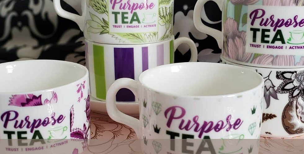 Purpose TEA Teacup