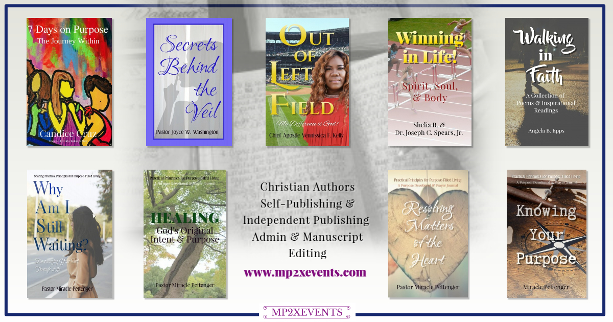 MP2XEVENTS, LLC. Christian Authors