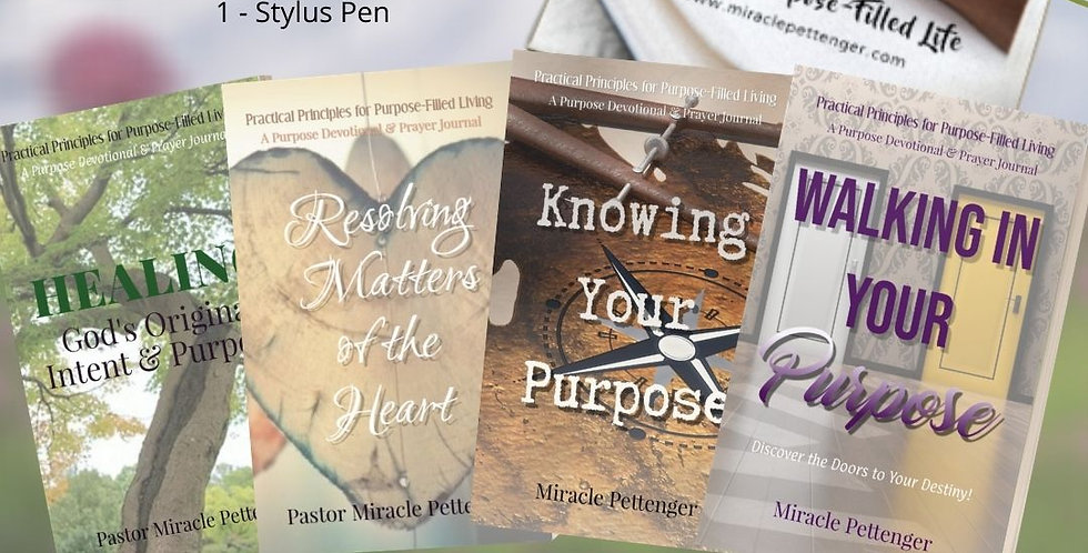 Purpose-Filled Life Devotional Set