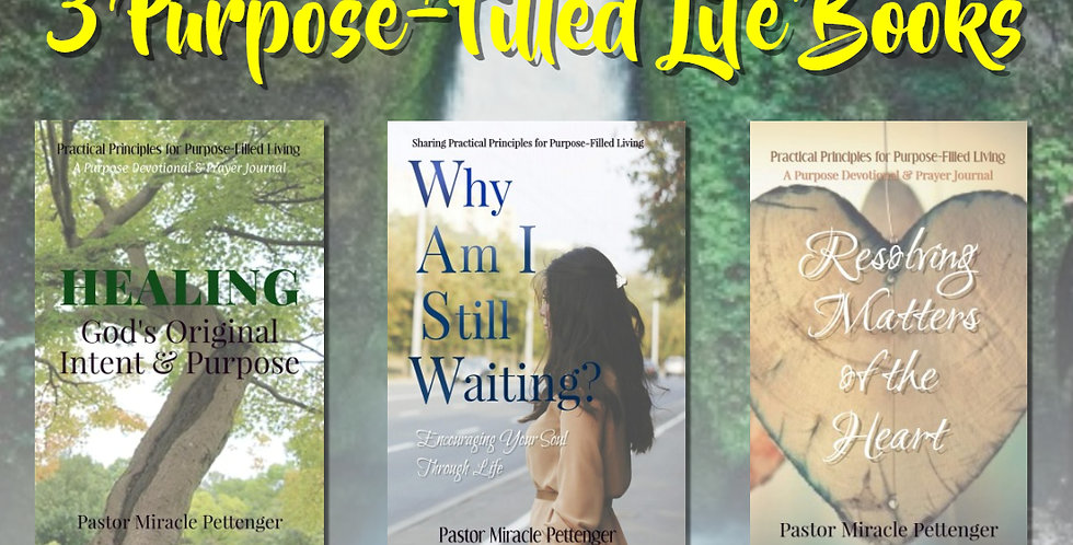 Purpose-Filled Living Book Set