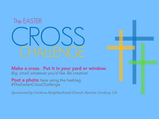 The Easter Cross Challenge