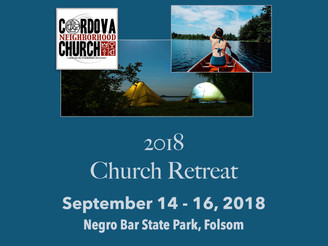 Church Retreat Is Coming!