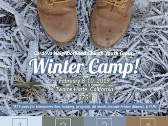 Youth Group Winter Camp