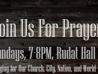 Come pray.