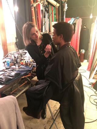 Make-up voor Humberto Tan