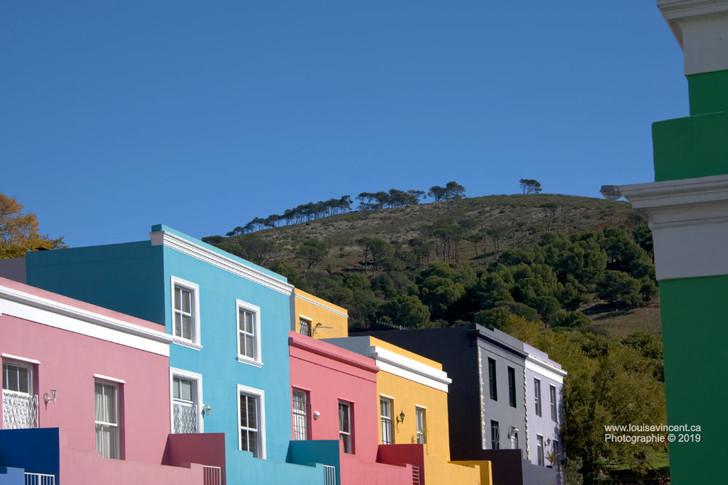 Bo Kap: les maisons colorées de Cape Town