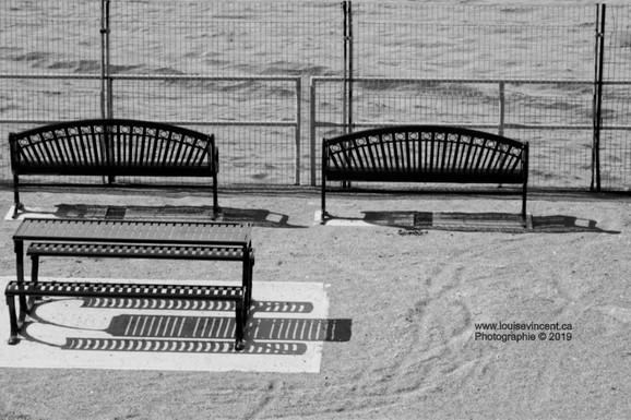 Bancs sur sable