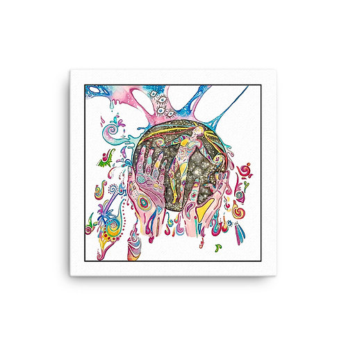 LUCID ANATOMY ARTWORK CANVAS