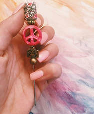 Favorite Peace Poker I've made- probably forever 💅🏼💓👑🌟🍯Tag a #blazingbeauty that needs this!! 15% off with coupon code _Trees_ on peacepoker