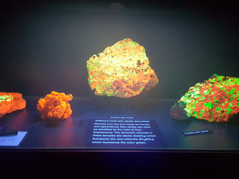 Fluorescent Minerals from my home county