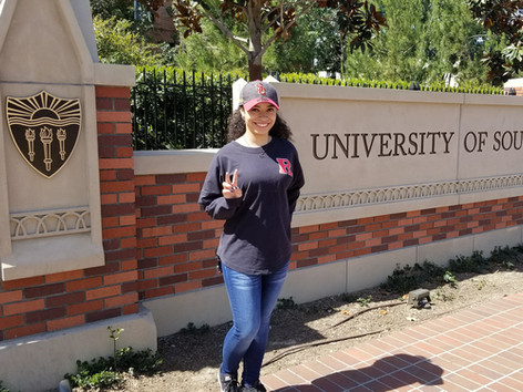 My first USC visit