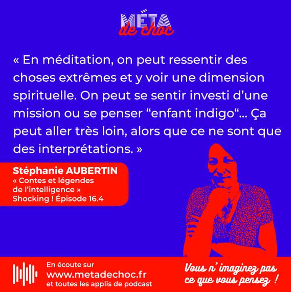 Attention aux interprétations pendant la méditation !