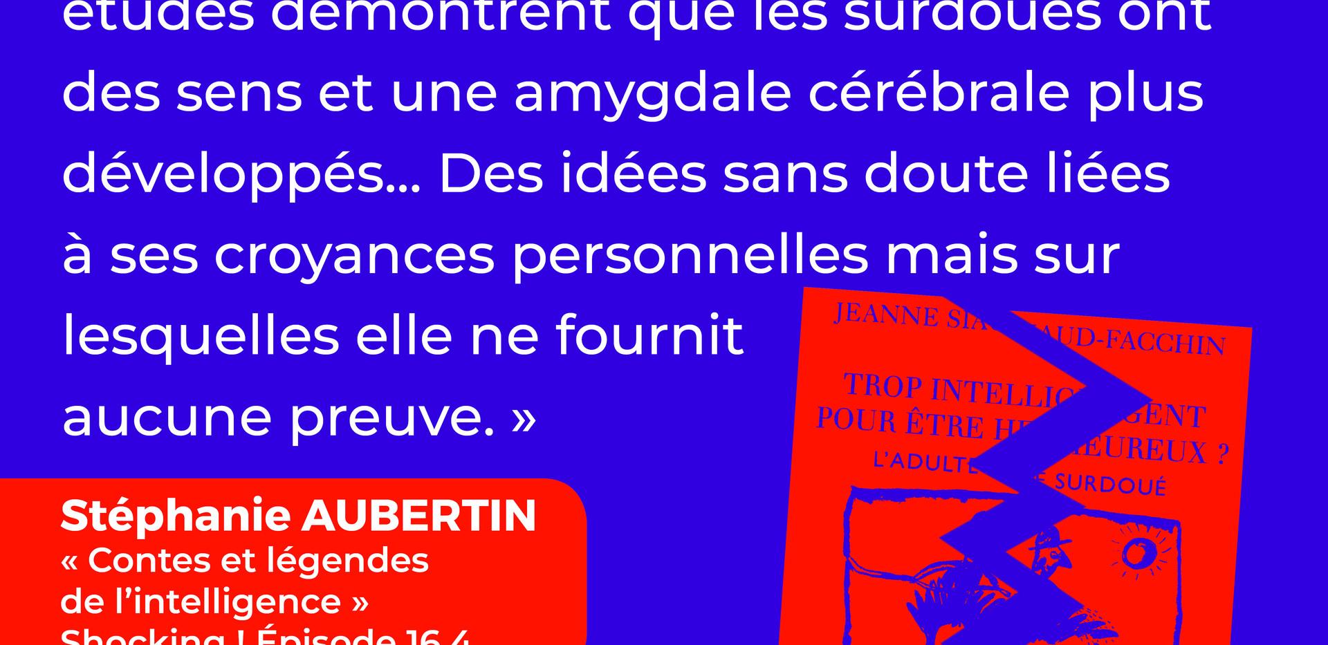 Les idées fausses de Jeanne Siaud-Facchin