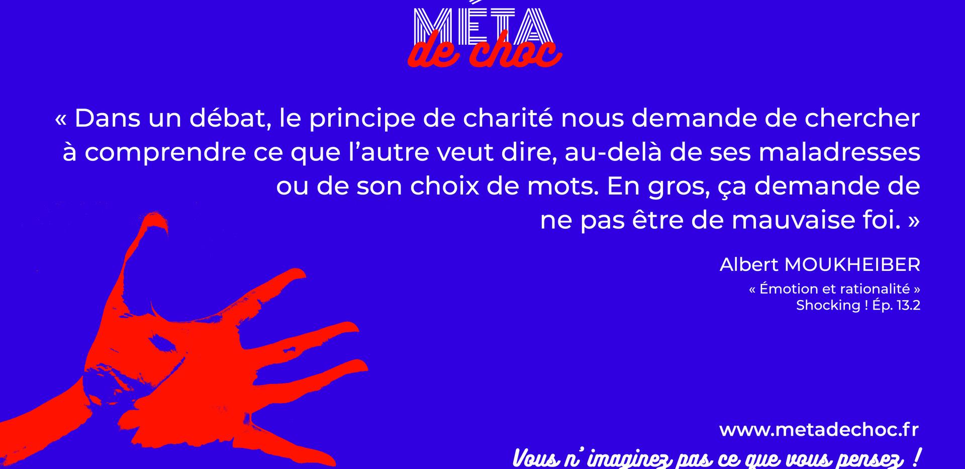 Shocking 13.2 Le principe de charité