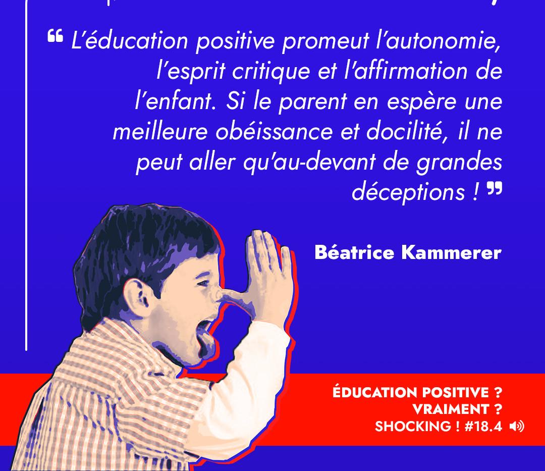L'éducation positive est un projet particulièrement énergivore. On ne peut donc pas se priver de la moitié des parents pour la mettre en application. C'est injuste vis-à-vis des femmes, et surtout voué à l'échec. Les pères doivent prendre leur place et se détacher des stéréotypes de la virilité.