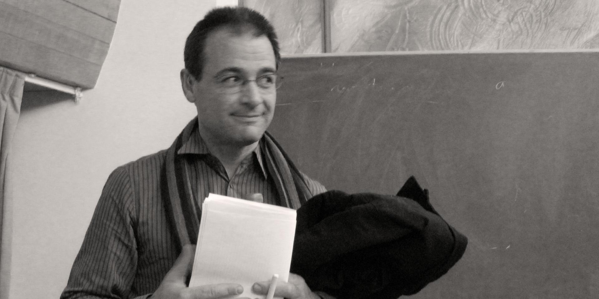 Grégoire Perra lors de sa démission