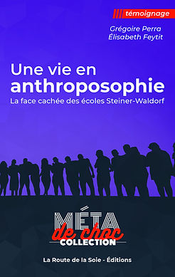 Une vie en anthroposophie - livre 1couv.