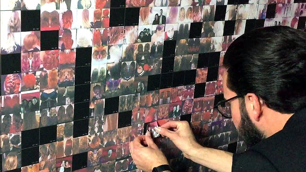 Digital Mosaic Photo Booth