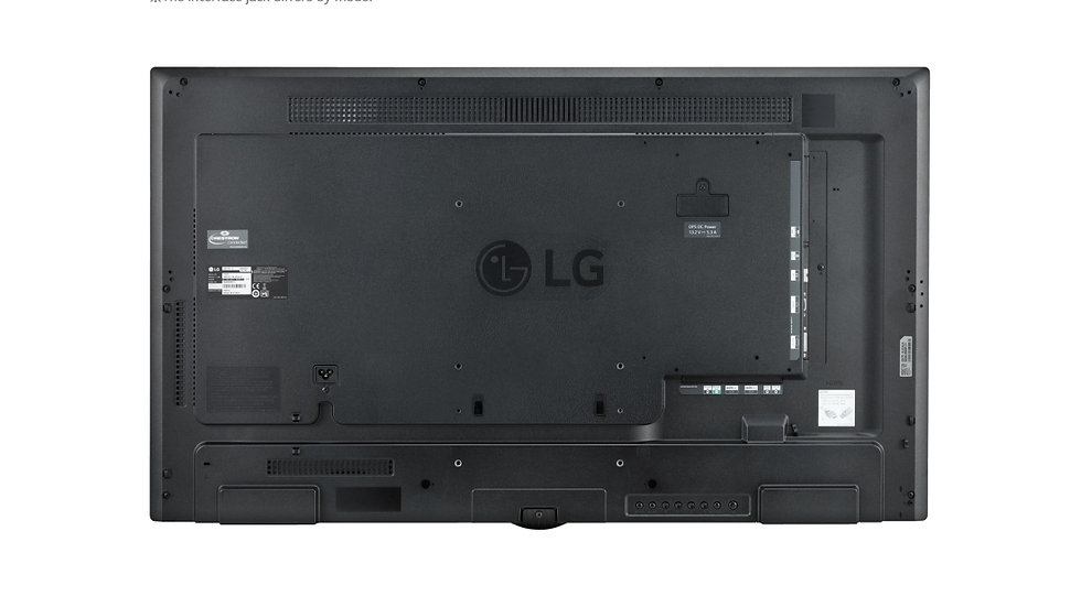 "LG 49SM5KE-B SM5KE Series - 49"" LED display - Full HD Specs"