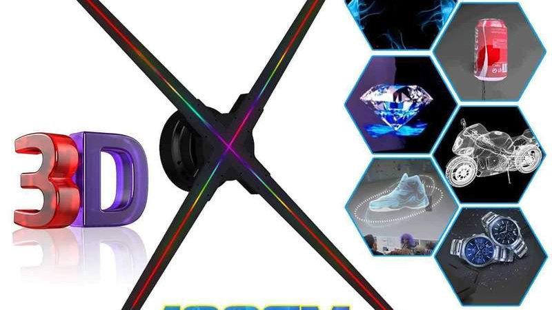 100 cm 3D Hologram Display