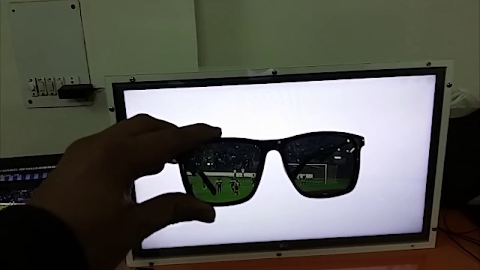 Invisible Screen