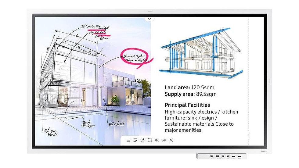 "Samsung Flip 2 55"" 3840 x 2160 Interactive Display"