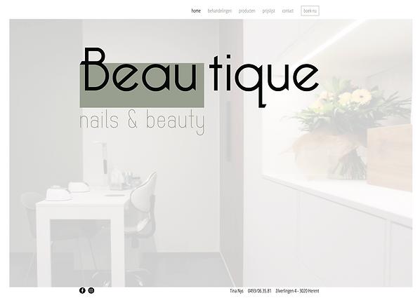 Webdesign Beautique