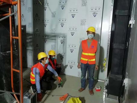 cleanroom panel for emergency hospital
