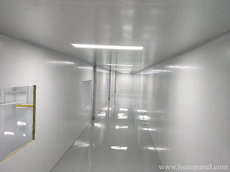 medical-cleanroom-panel-for-mask-factory