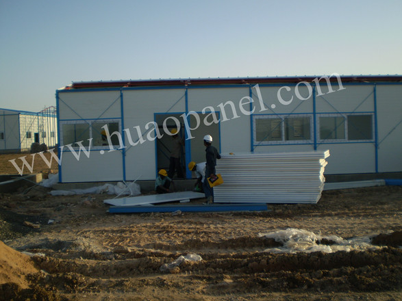 sandwich panel labour accommodation-India-5