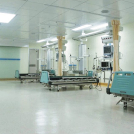 sandwich panel walls for clean room medical health center