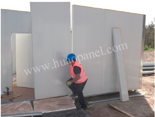 eps insulated wall panel installation