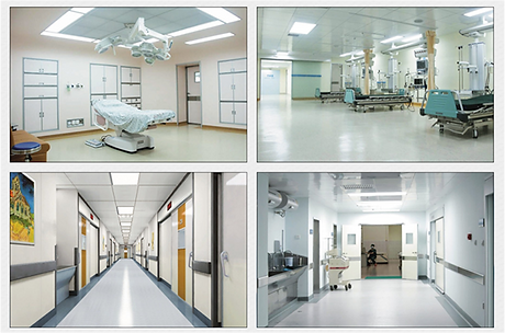 sandwich panel for clean room hospital project