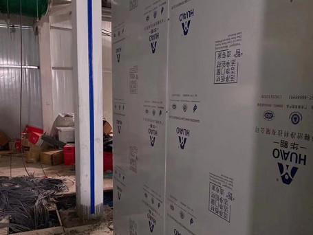 clean room for leishenshan makeshift hospital