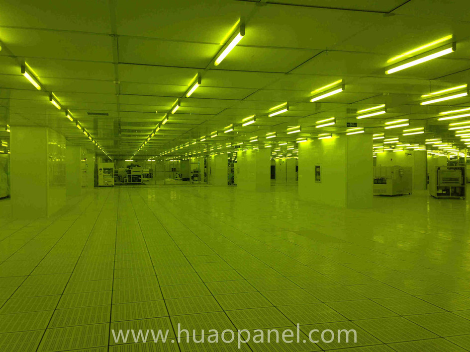 clean room for electronics industry