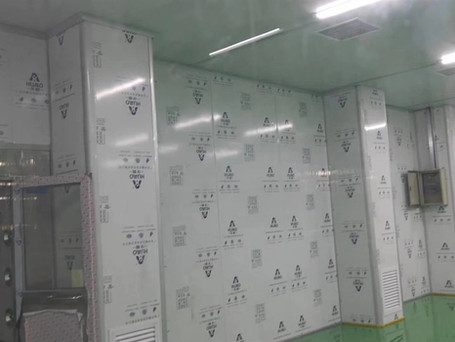 clean room panel for mask production factory